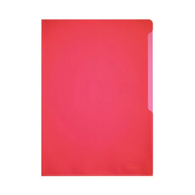 Durable / Folder-folder for documents, 100 microns, A4, matte, polypropylene Red