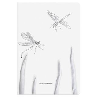 Notebook A5 EUR 40 L. BRUNO VISCONTI cross-linking, cell, Soft Touch, beige paper 70 g/m2,