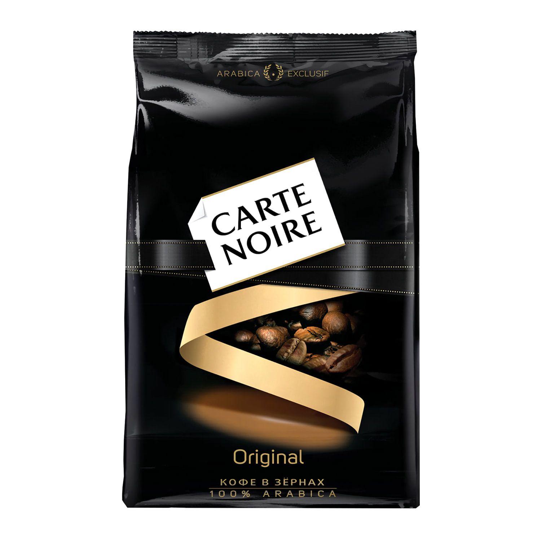 CARTE NOIRE / Natural coffee beans, vacuum packaging 800 g