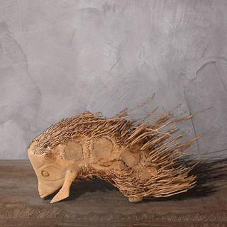 "Wooden figurine ""Hedgehog"""
