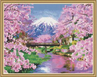 "Diamond mosaic ""Fuji"" 40x50 cm"