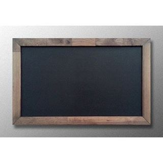 "Chalk board in frame ""NUT"""