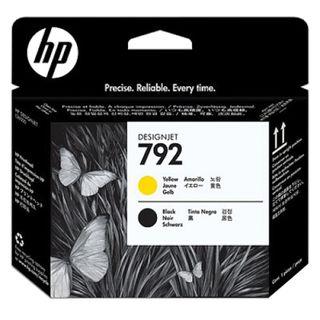 HP / DesignJet L26500 Plotter Head (CN702A) # 792 Black and Yellow Original