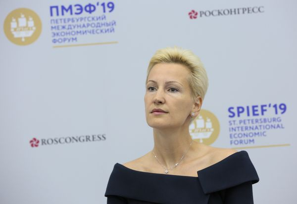 Anna Nesterova at the SPIEF-2019: Electronic commerce is a way to support small and medium businesses