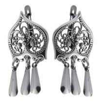 Earrings 30173 'Mysterious heart'