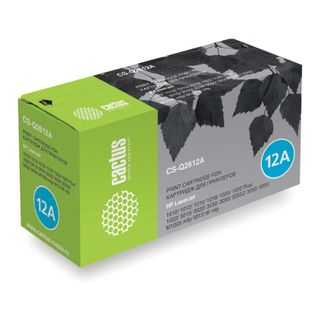 Toner cartridge CACTUS (CS-Q2612A) for HP LaserJet 1018/3052 / M1005, resource 2000 pages.