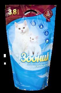 """ZOONIK"" Silica Cat Litter, 3,8l /or 20l"
