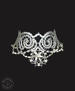 Jewelry-choker lace С383