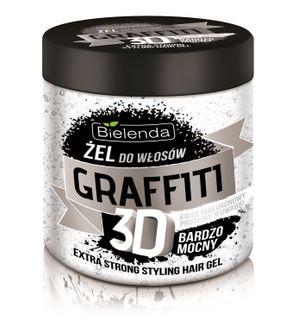 Hair gel ULTRA STRONG , BIELENDA GRAFFITI 3D , 250ml