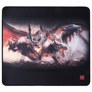 DEFENDER / Gaming mouse pad Cerberus XXL, fabric + rubber, 400x355x3 mm
