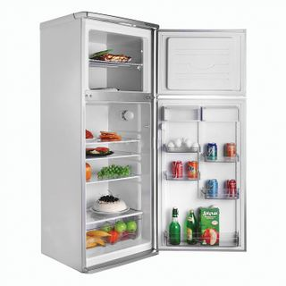 ATLANT MHM 2835-08 fridge, two-chamber, 280 litres, top freezer 70 litres, silver
