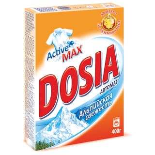 "Automatic washing powder DOSIA (Dosia) ""Alpine freshness"" 400 g"