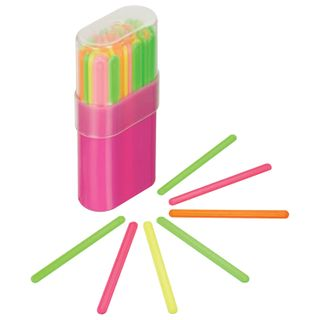 Counting sticks of STAMM (30 pieces) multi color, in plastic box