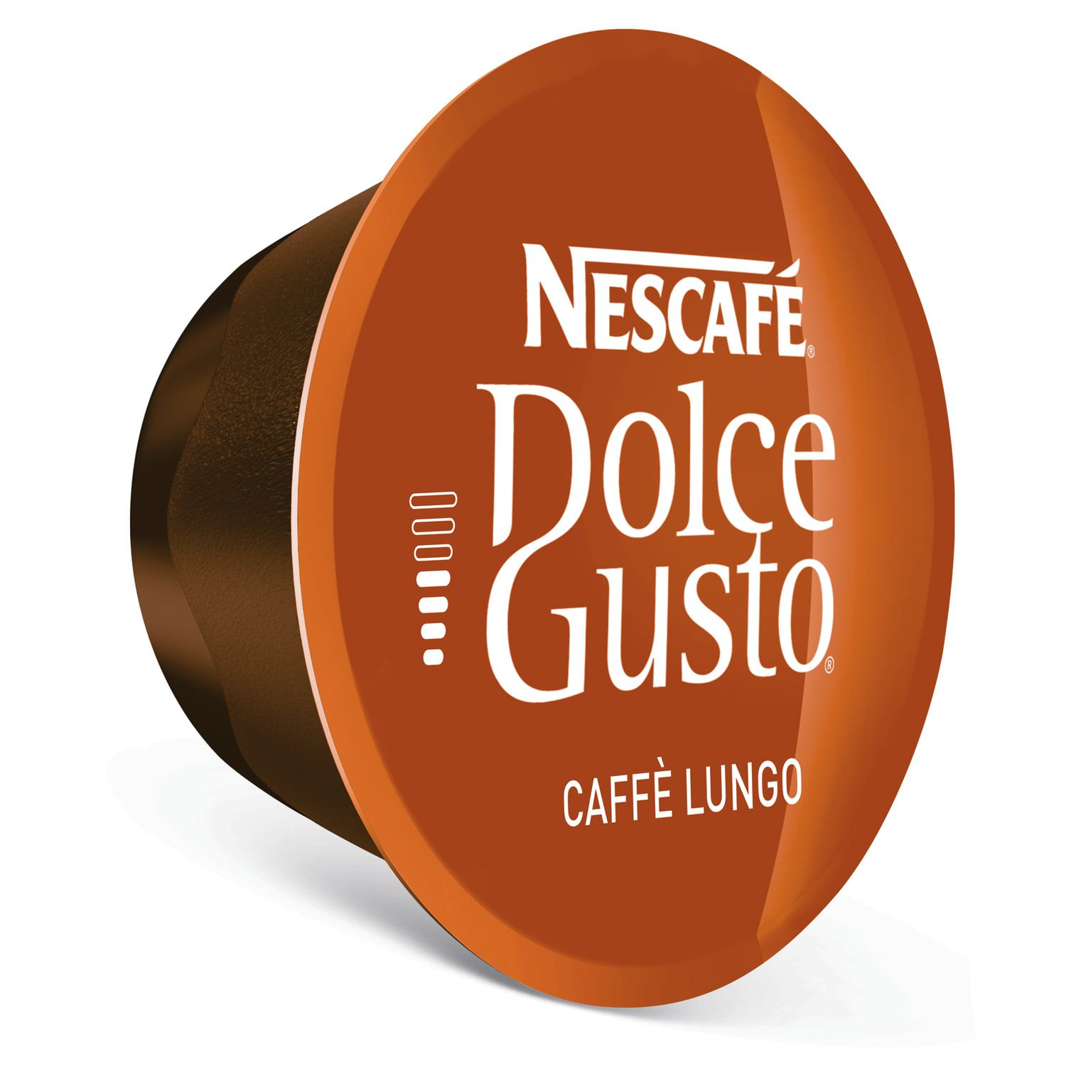 NESCAFE / Capsules for Dolce Gusto Lungo coffee machines, natural coffee 16 pcs. x 7 g