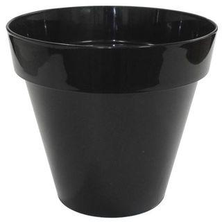 Flowerpot MILAN # 18 BLACK