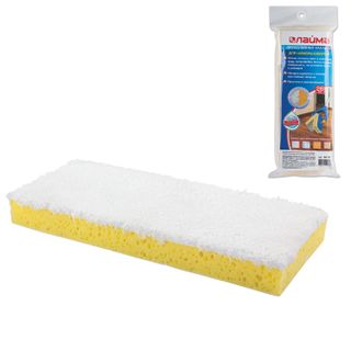 "LIMA / MOP attachment for self-wringing mop ""Butterfly"" 601468, sponge / microfiber 28 cm, with Velcro"