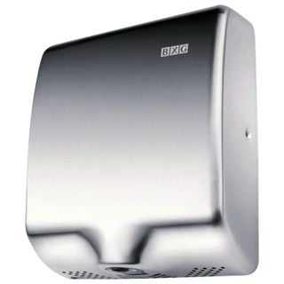BXG-180A hand dryer, 1800 W, stainless steel, chrome