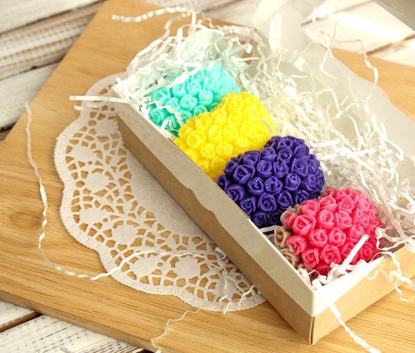 Soap Gift Set Flower Hearts