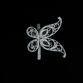 "Kazakovskaya Filigree / Napkin holder ""Butterfly"" silvering - view 2"