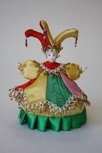 Souvenir doll-casket - Carnival costume