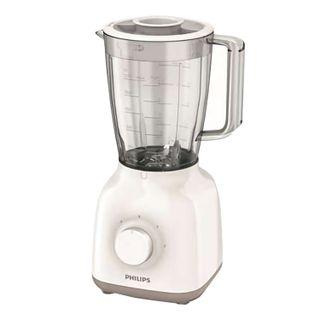 PHILIPS / Stationary blender HR2100 / 00, 400 W, 2 speeds, bowl 1.5 L, plastic, white