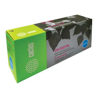 Toner cartridge CACTUS (CS-CE273A) for HP ColorLaserJet CP5525, magenta, yield 15,000 pages