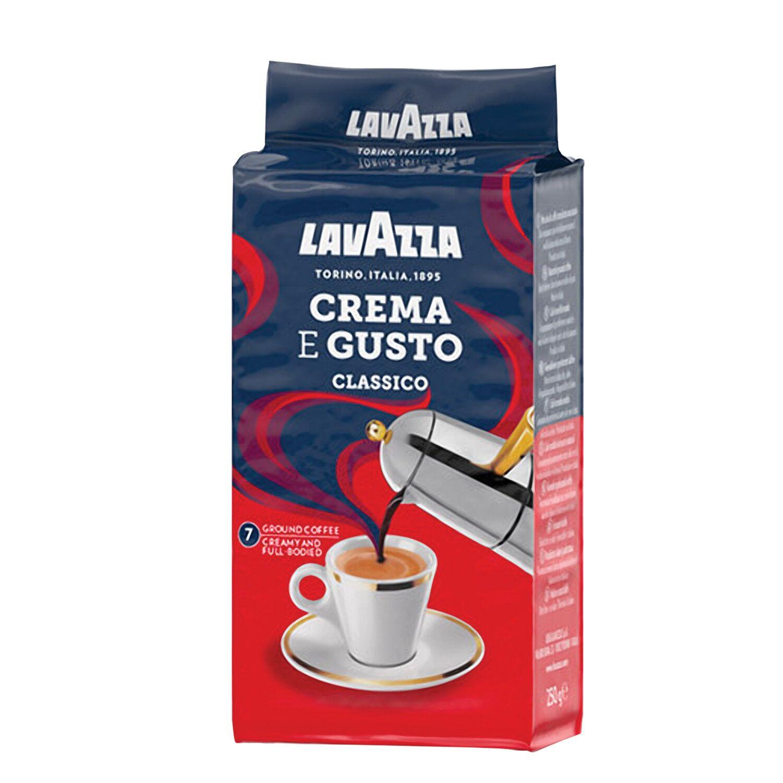 "LAVAZZA / Ground coffee ""Crema E Gusto"", vacuum package 250 g"
