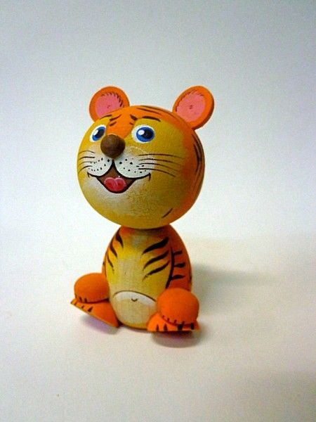 "Tver souvenirs / Fairy-tale characters ""Tiger cub"""