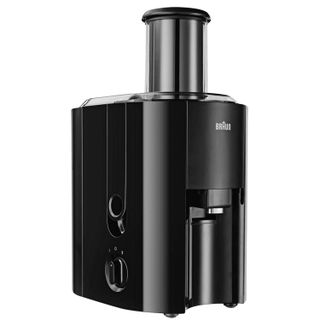 BRAUN J300 juicer, 800 W, 1.25 litres, 2 litres of harness capacity, plastic, black