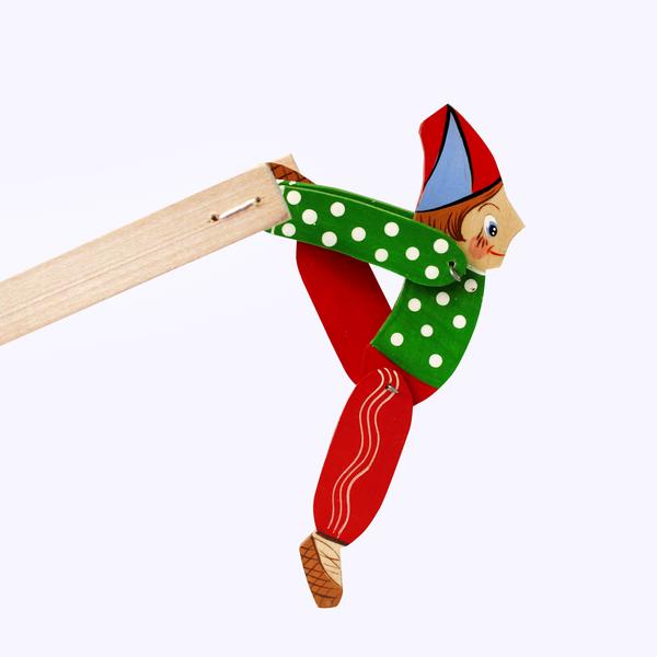 Bogorodskaya toy / Wooden souvenir 'Parsley'