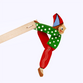 Bogorodskaya toy / Wooden souvenir 'Parsley' - view 1