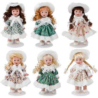 Porcelain doll 13 cm