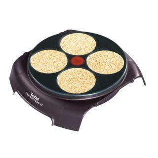 TEFAL PY303633, 720 W, 4 pancakes, non-stick coating, plastic/aluminium, black