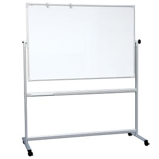 Board magnetic marker ON the STAND (120x180 cm), 2-sided, HOLDERS FOR PAPER, OFFICE