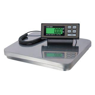 MERCURY / Floor scales M-ER 333BF-150.50 LCD (0.4-150 kg), resolution 50 g, platform 355x405 mm, portable display