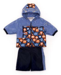 Set MalekBaby Jacket - Bib, Spring-Autumn