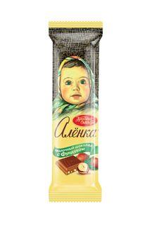 Chocolate Alenka with filbert, 45 gr