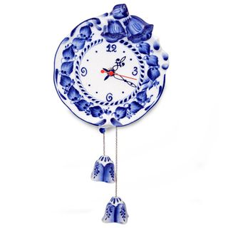 Watch Bell Gzhel Porcelain factory