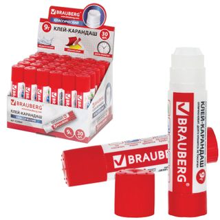 Glue stick BRAUBERG, 9 g