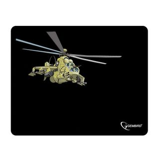 """GEMBIRD / MP-GAME9 """"Helicopter"""" mouse pad, fabric + foam rubber, 250x200x3 mm, black"""