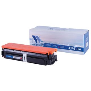 Magenta NV PRINT Toner Cartridge (NV-CF413A) for HP M377dw / M452nw / M477fdn / M477fdw, yield 2300 pages