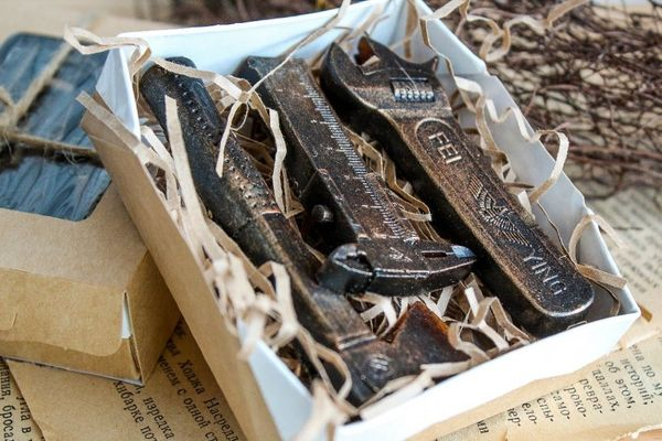 3 in 1 Tools - Men's Handmade Soap Set