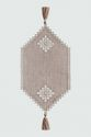 Decorative linen napkin - view 1