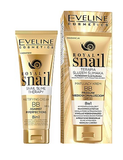 Mattifying BB cream 8in1 against the imperfections of a series of royal snail, Avon, 50 ml