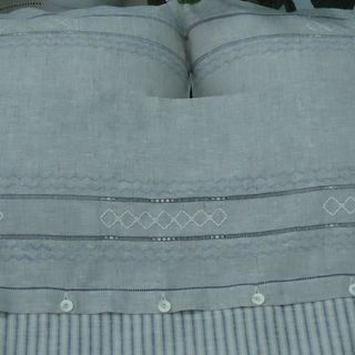 """Linen bedding set with embroidery """"HARMONY"""""""