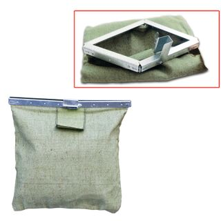 Cash collection bag, 400x400 mm, tarpaulin