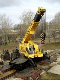 Crane railway hydraulic КЖ-971