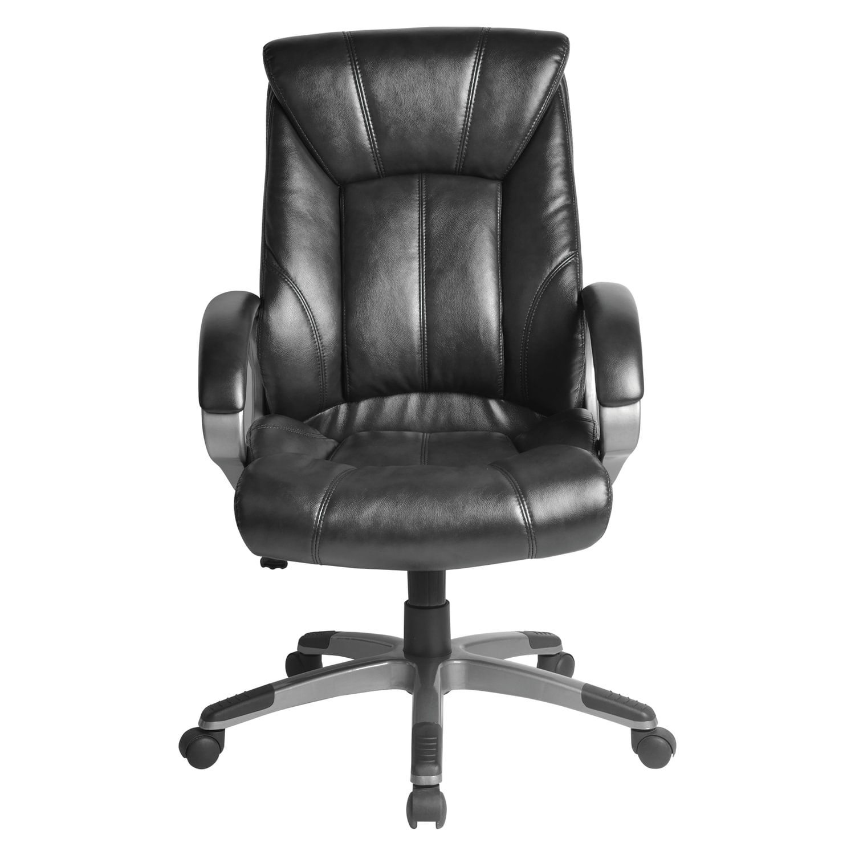 """Brabix """"Maestro EX-506"""" office chair, eco-cozh, black"""