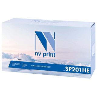 Laser cartridge NV PRINT (NV-SP201HE) for RICOH SP211SU / SP 213SFNw, resource 2600 pages.