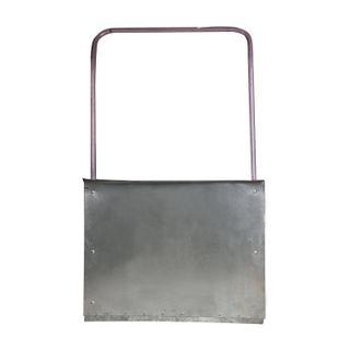 Shovel-scraper (scraper), galvanized steel 0.8 mm, 75x55 cm, height 120 cm, economy, metal handle